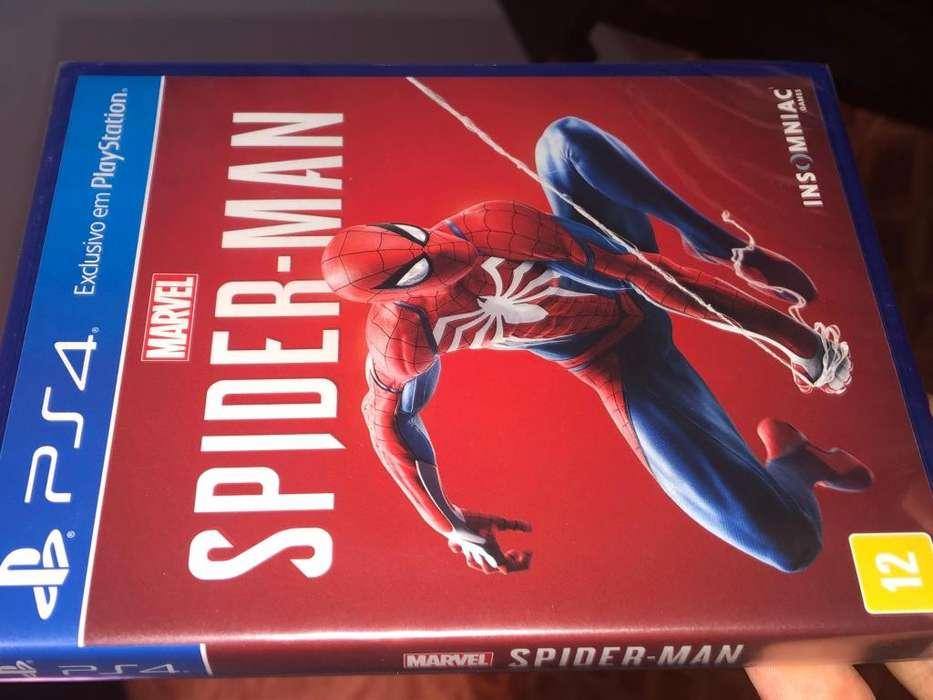 Spiderman PS4 Fisico Sellado