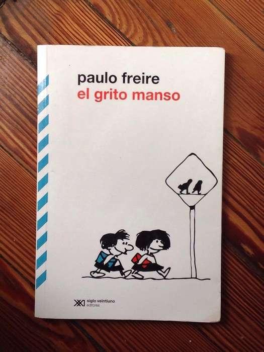 Libro El Grito Manso de Paulo Freire