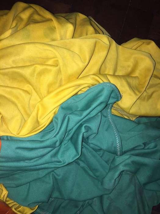 Bandera Verde Y Amarilla 9Metrosx3 aprox