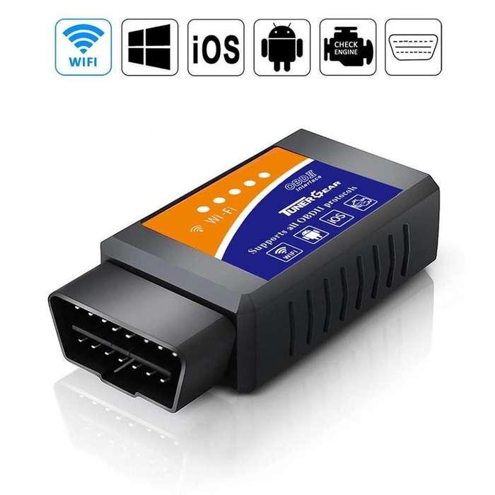 Escaner Automotriz Elm327 Bluetooth Obd2 Original Wifi . Android y iPhone