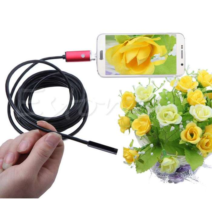 Endoscopio Usb 6led 2mp 8.0 Impermeable Otg Android Ip67 NUEVO CABA La Plata
