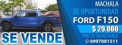 VENDO FORD 4X4  F150 COLOR AZUL ELÉCTRICO