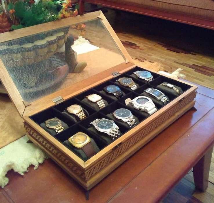 Cajas para Reloj, diferentes diseños y tamaños