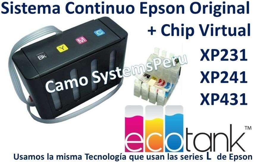 SISTEMA CONTINUO EPSON XP241