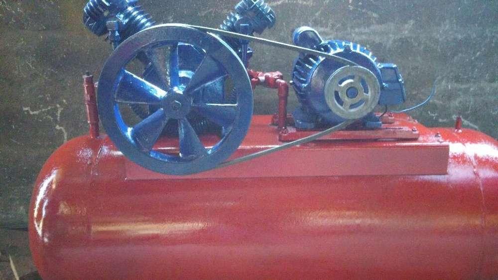 Compresor Doble Cabezal