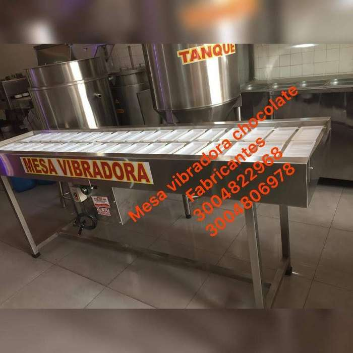 mesa vibradora cacao - prensa cacao