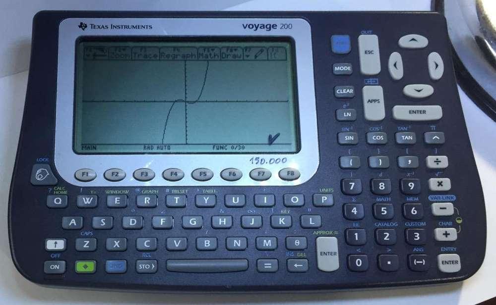 Calculadora Ti-Voyage 200