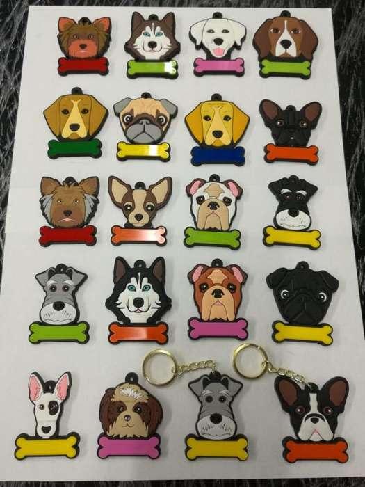 llaveros de razas de perros