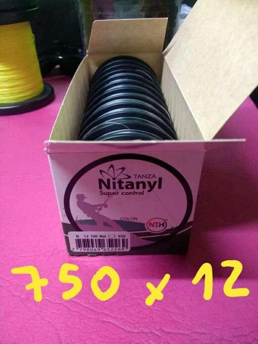 Tanza Nitanyl 0.50mm Caja X 12 Unid.
