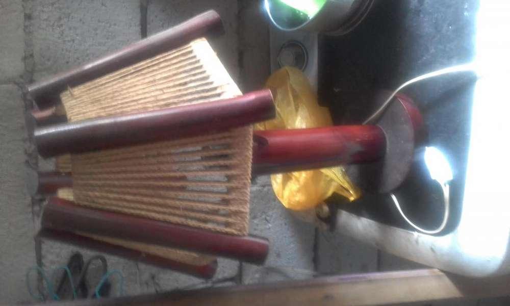 Vendo una lampara de madera