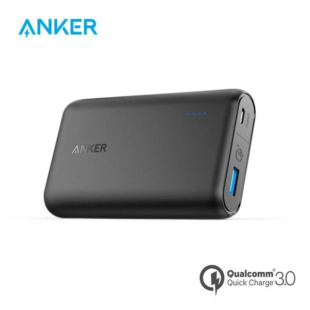 Bateria Externa Anker Powercore 10000 Mah  Quick Charge 3.0