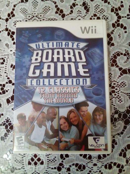 Ultimate board game collection WII NTSC INSERTCOIN