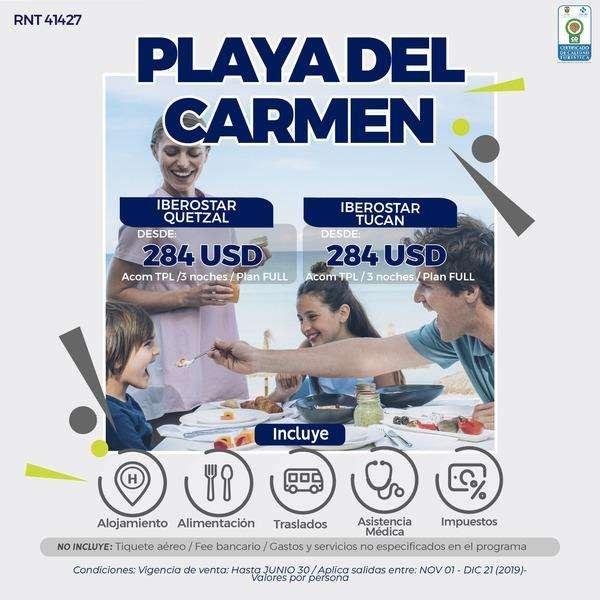PLAYA DEL CARMEN MEXICO 3 NOCHES DESDE 950.000 POR PERSONA SIN TIQUETES WWW WEBAVIAJAR COM 305 3263880