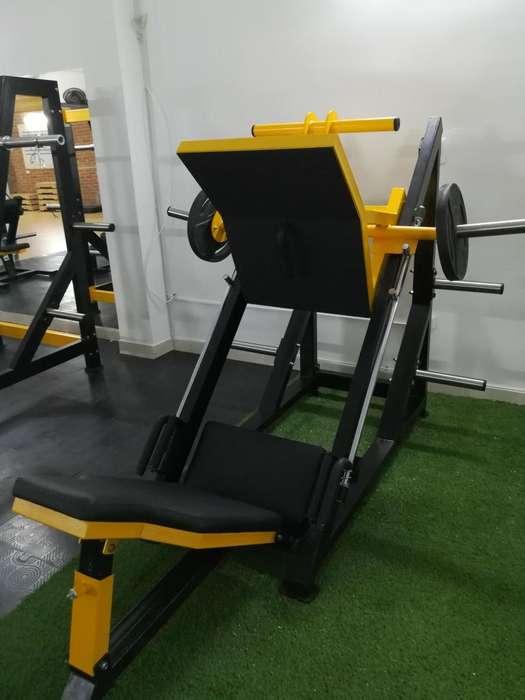 Maquinas para gimnasio PRENSA 45