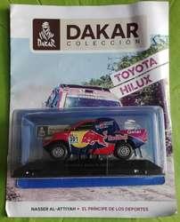 Dakar. Toyota Hilux 2017. Naser Alattiyah Esc. 1:43