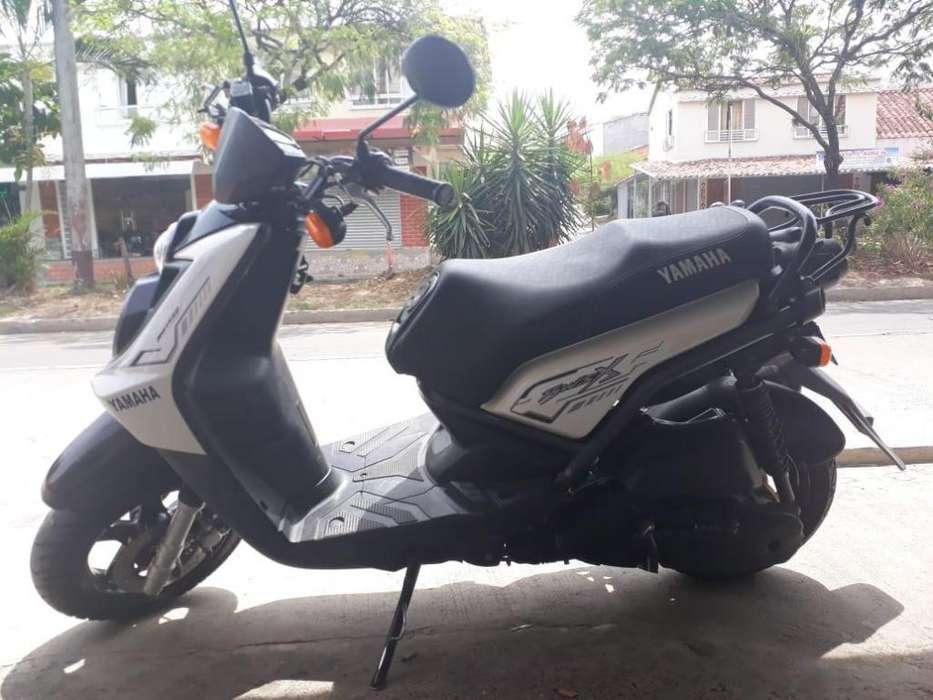 vende moto BWS 125 YAHAMA COLOR BLANCA