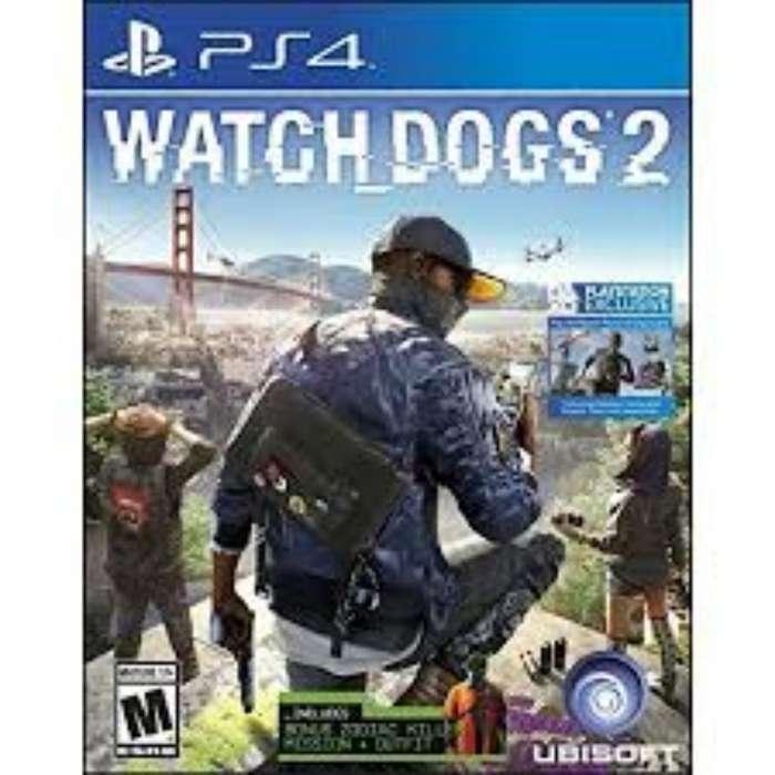 Vendo Cambio Watch Dogs 2 Ps4