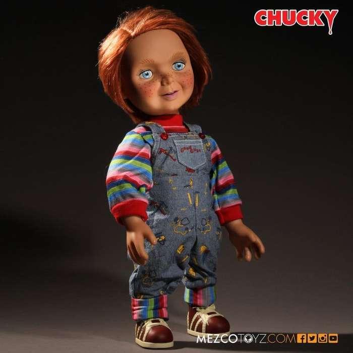 Figura Mezco - Good Guys Chucky 38cms (con Sonido)