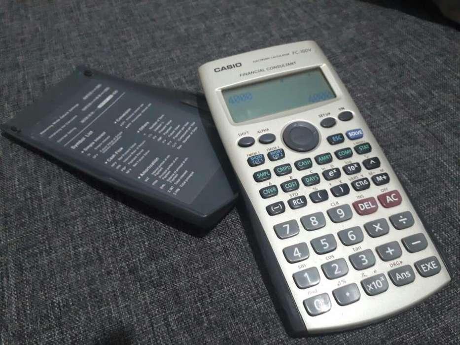 Calculadora Financiera Casio