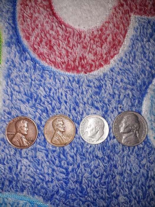 Monedas de Colecion Del 51 57 60 Y 61