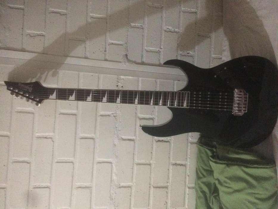 Ibanez Grg170dx Gio Black Knigth usada