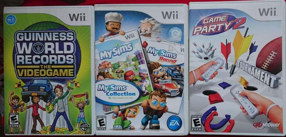 JUEGOS NINTENDO Wii ORIGINALES !!PERFECTAS CONDICIONES!!