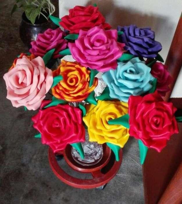 Rosas en Fomi