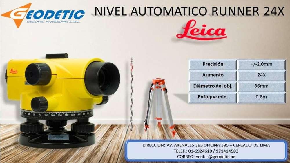 Nivel marca Leica modelo Runner24