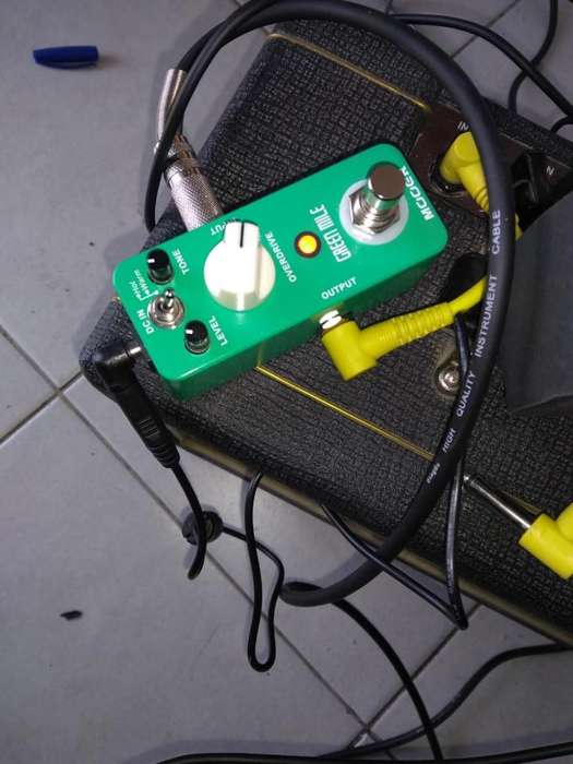 Pedal mooer green mile overdrive