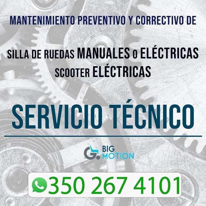 Reparacion y Mantenimiento de Sillas de Ruedas Electricas y Scooters. Repuestos