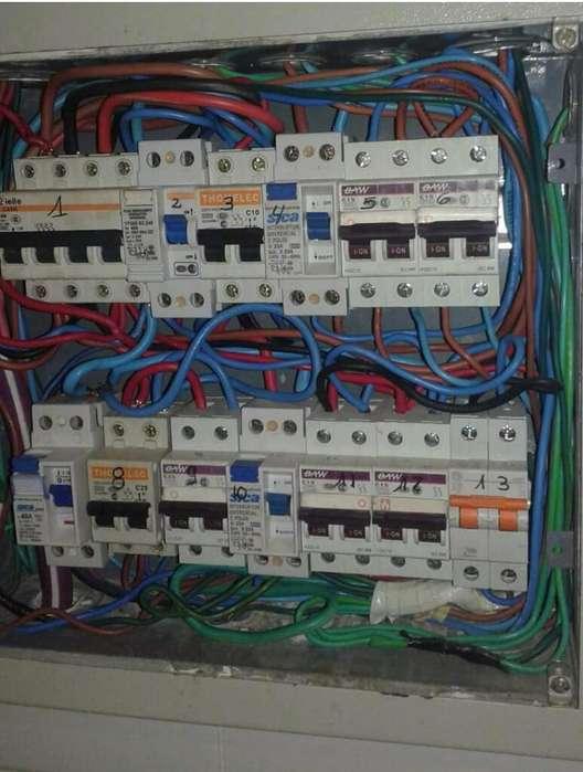Electricista Matriculado Urgencias 24 Hs