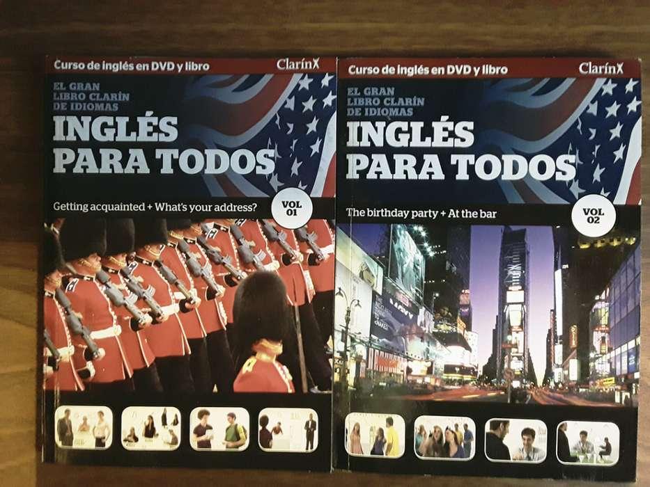 Curso de inglés en DVD interactivo y libro