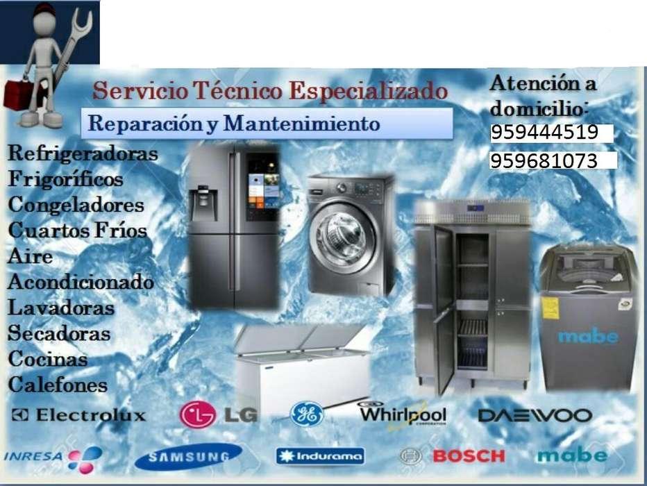 Reparación Refrigeradoras, lavadoras, microondas y todo tipo de servicio doméstico en Arequipa