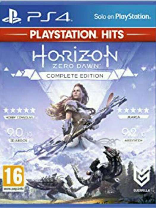 Horizon Zero Dawn Complete Edition Fisic