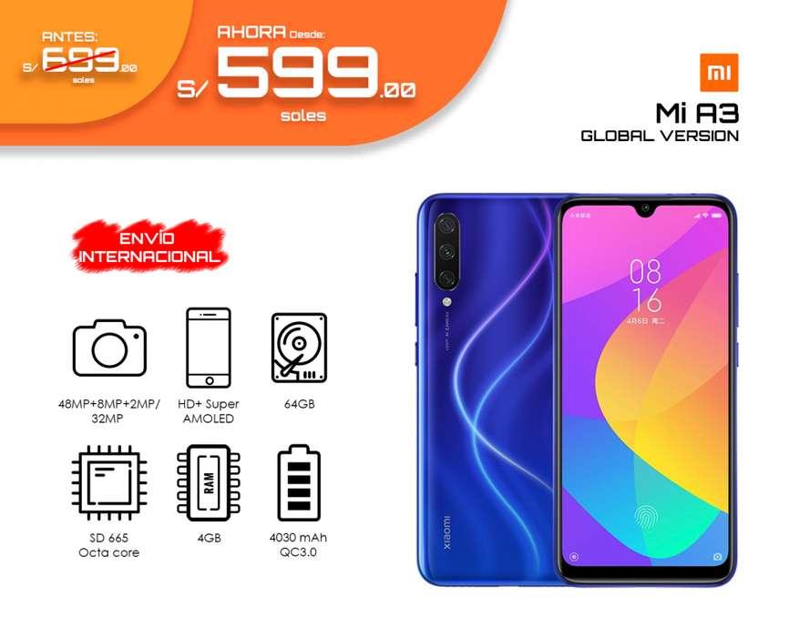Xiaomi Mi A3 64GB 4GB 48Mpx Global