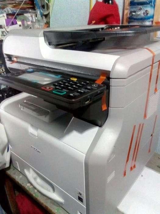 Nueva Fotocopiadora Multifuncional Ricoh Sp 4510sf Mas bandeja tamaño Oficio