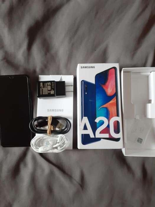 Vendo Samsung A20 Libre