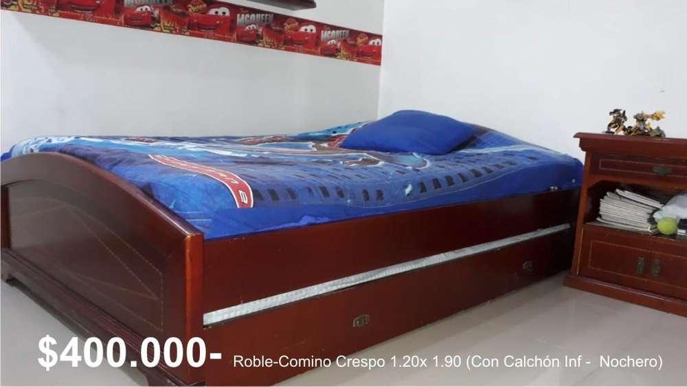Cama Doble- ROBLE - COMINO CRESPO 1.90 x 1.20
