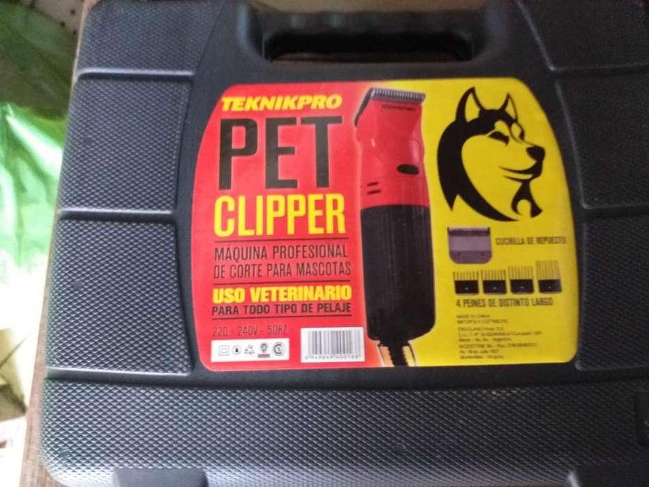 Maquina de Cortar Pelo para Perros