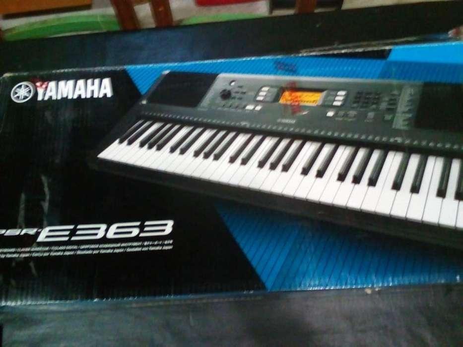 vendo teclado yamaha psre 363 nuevo