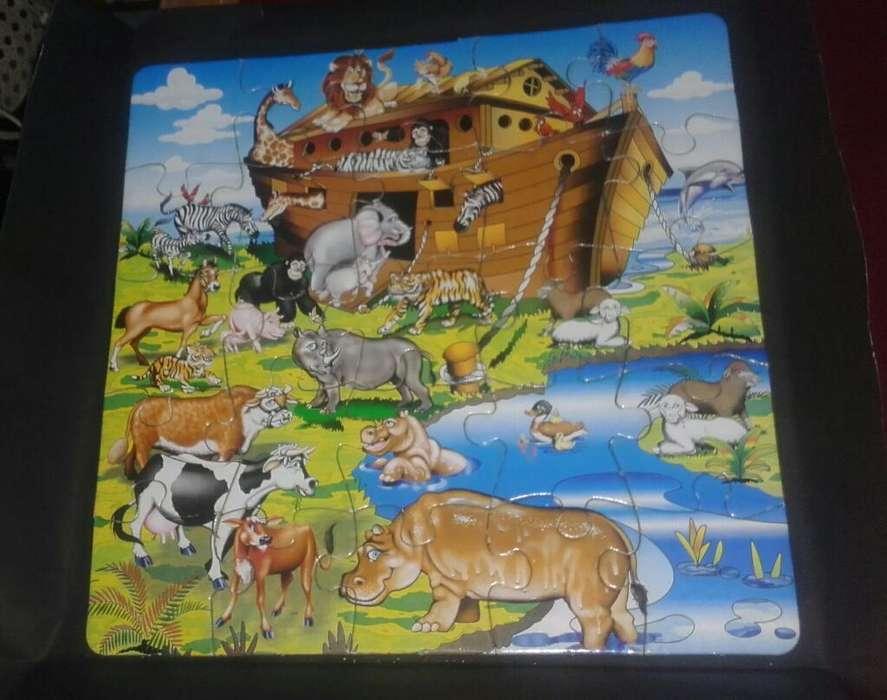 Rompecabezas Arca de Noe 25piezas 29cm
