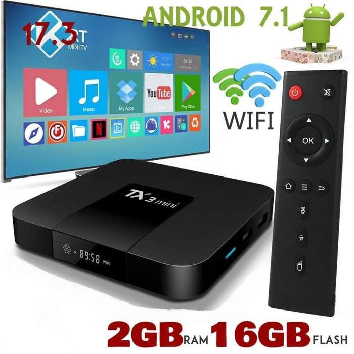 Tvbox 2 Gb 1200 Canales