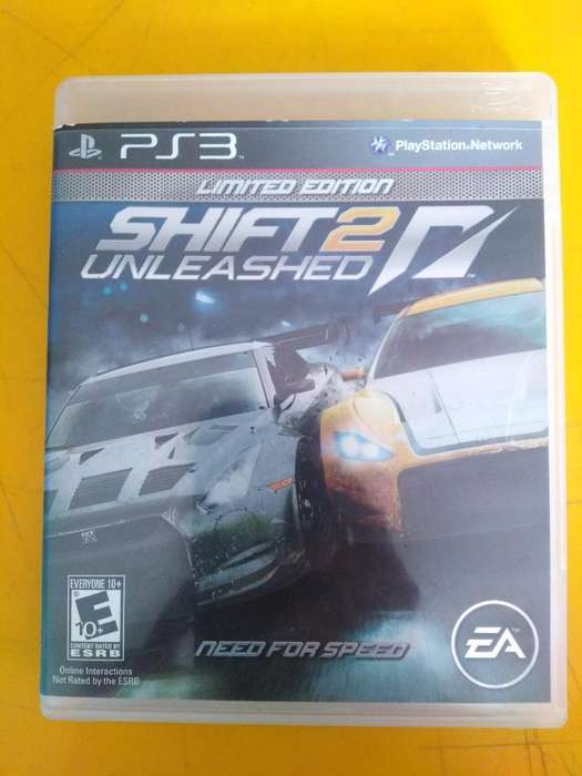 Ps3 Juego Nfs Shif 2 Y Nfs The Run Usado