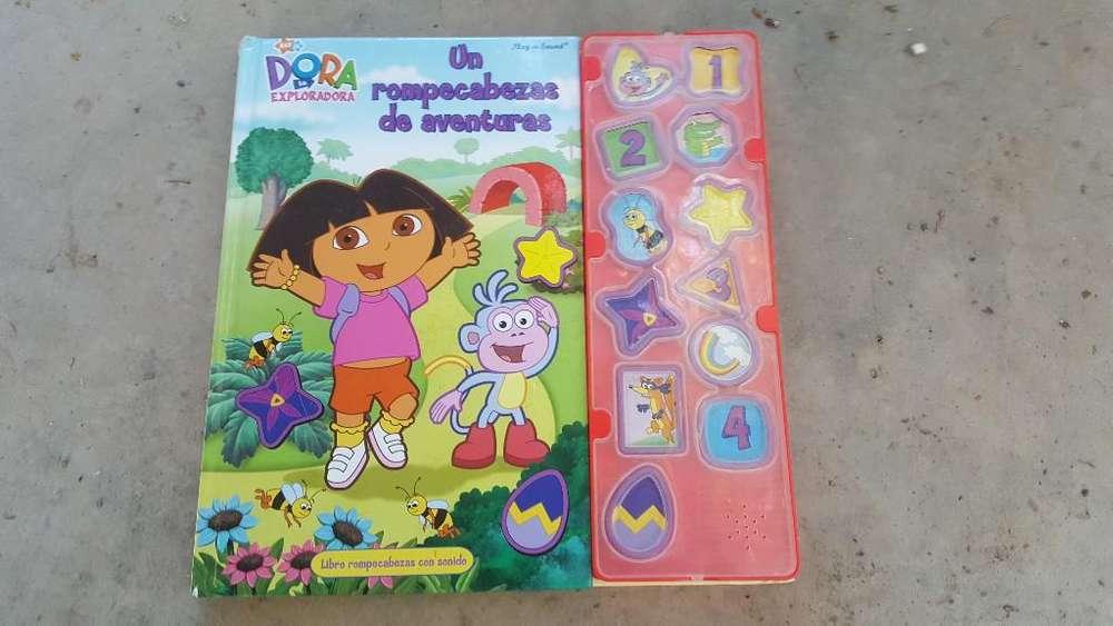Libro Dora La Exploradora con Sonidos