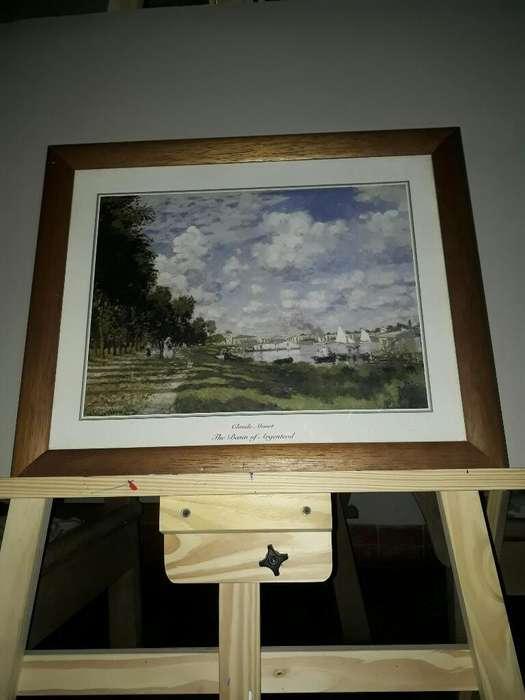 Lamina Monet 58x48 Cuadro