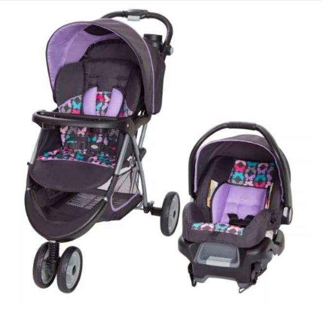 Coche y silla de carro COMBO Baby Trend Ez Ride 35 Sophia