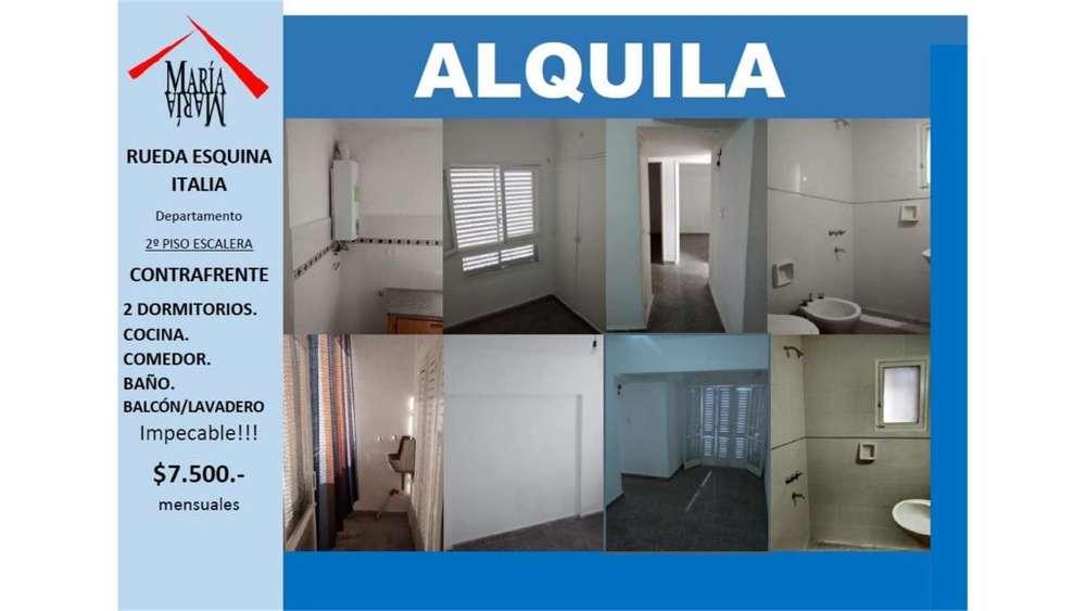 Rueda 1800 2 - 7.500 - Departamento Alquiler