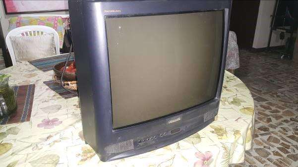 vendo barato TVs de caja panablack panasonic de 21 pulgadas y sony trinitron pantalla plana de 21 pulgadas