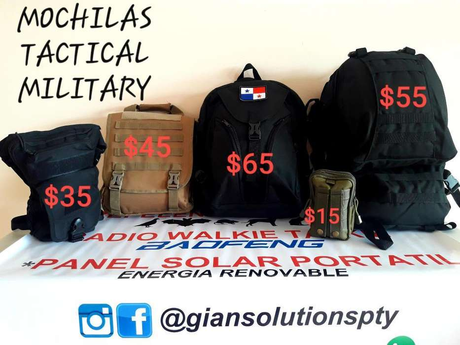 Mochilas Tactical Military