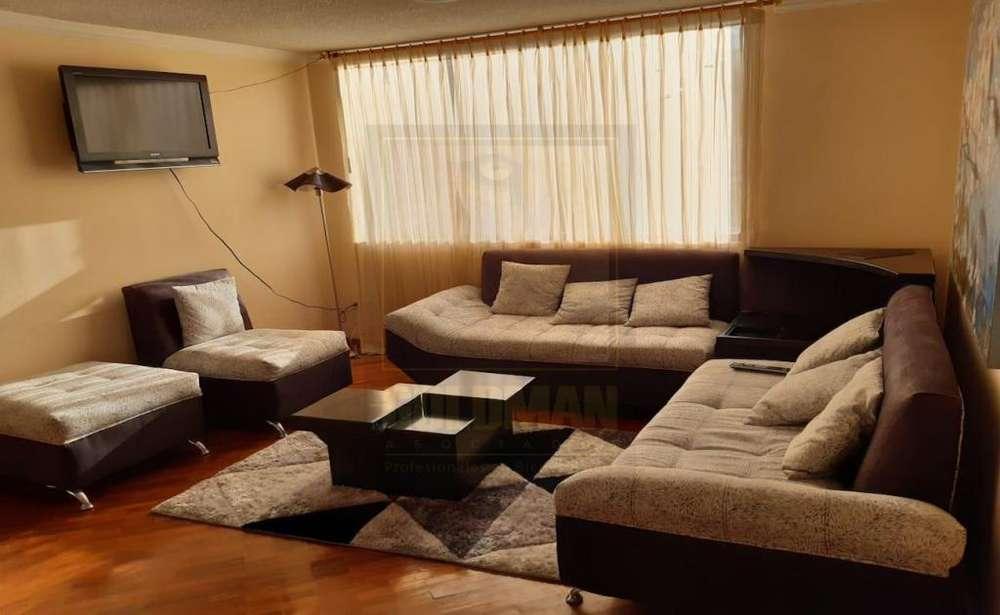 Monteserrín, departamento, 155 m2, alquiler, amoblado, 3 habitaciones, 2 baños, 2 parqueaderos